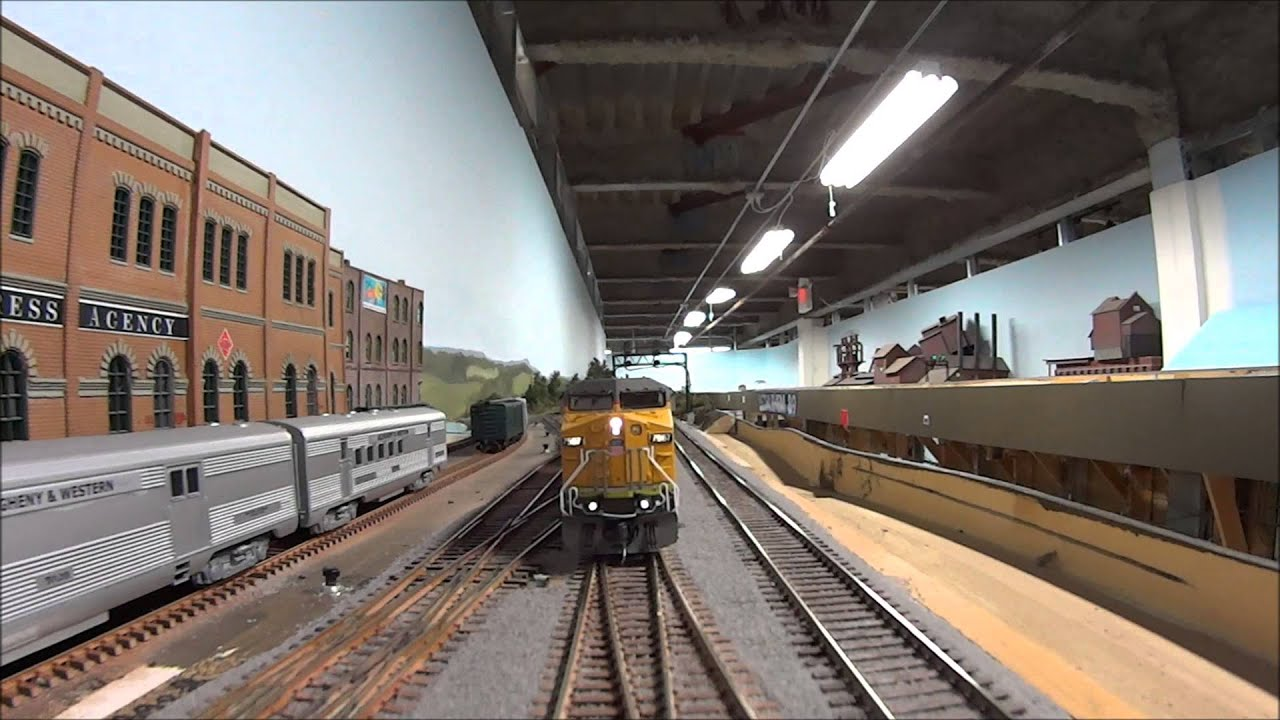 Union Pacific GE AC6000 Autotrain `UP Stands For Ultimate Power` by  elr2141979