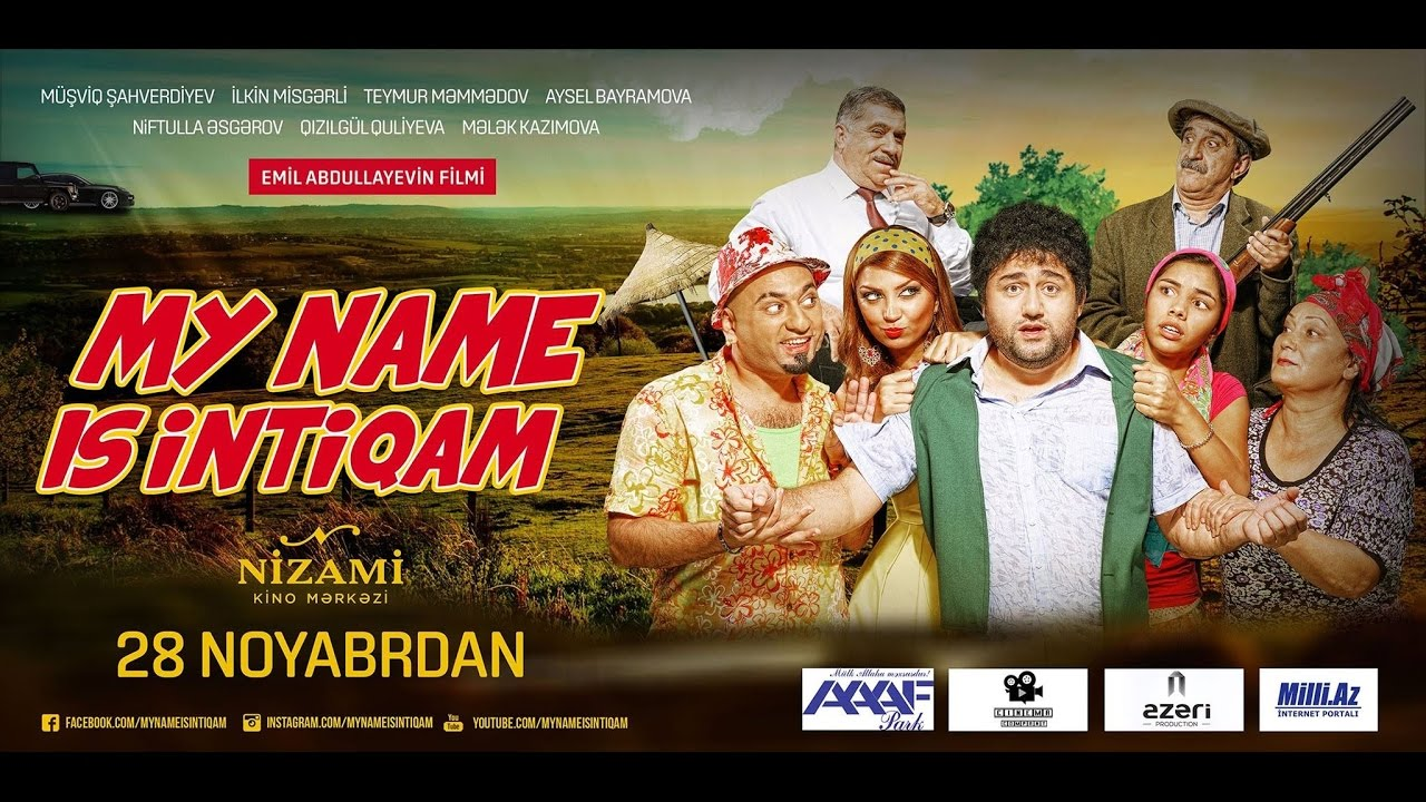 My Name Is Intiqam 1 | Tam Versiya 2014