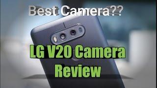 LG V20 Camera Review
