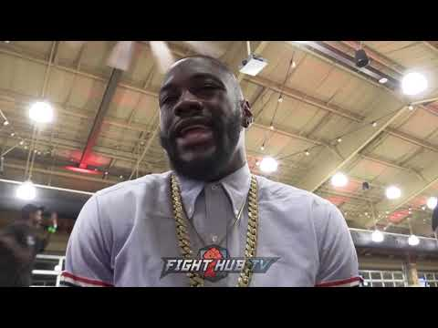 "DEONTAY WILDER ""JOSHUA SAID HE WANTED 50 MILL! WE DID THAT & HE DIDNT SIGN! SHOWS YOU HIS CHARACTER"""