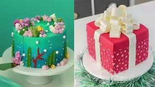 Торт украшение. Удивительные идеи украшения тортов. Рай для сладкоежек. CAKES IDEAS #11
