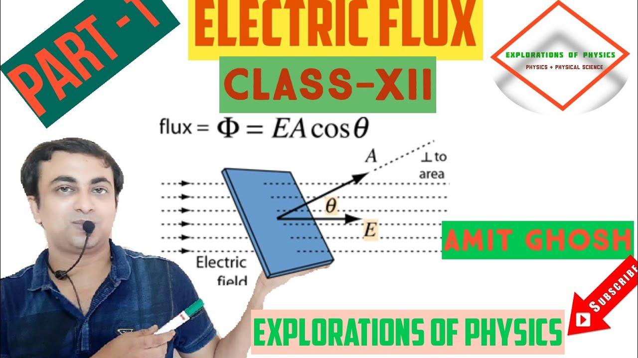 Electric flux class 12/part-1.