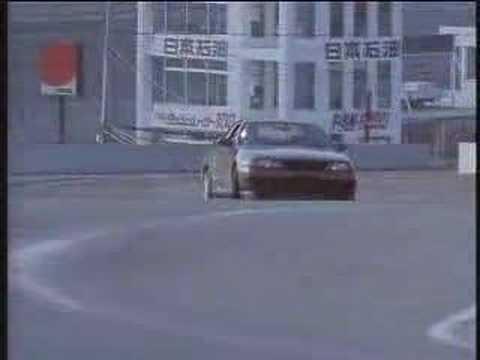 Keiichi Tsuchiya R32 GTR drift