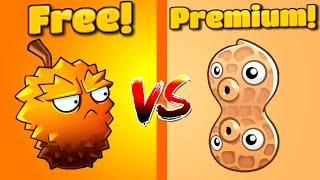 Plants vs Zombies 2 gameplay ENDURIAN vs PEA NUT in PVZ 2 Primal