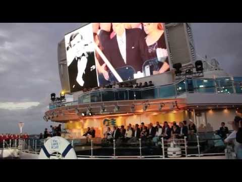 Love Boat Cast Reunite to Christen new Regal Princess Cruise Ship