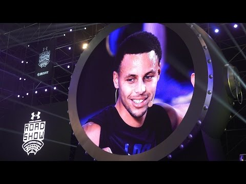 Curry's Tour Ends in Shanghai