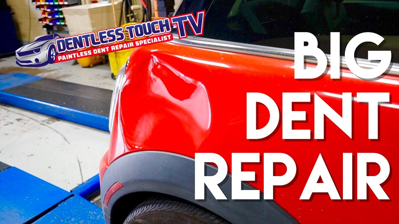 Mini Cooper Paintless Dent Repair Dentless Touch