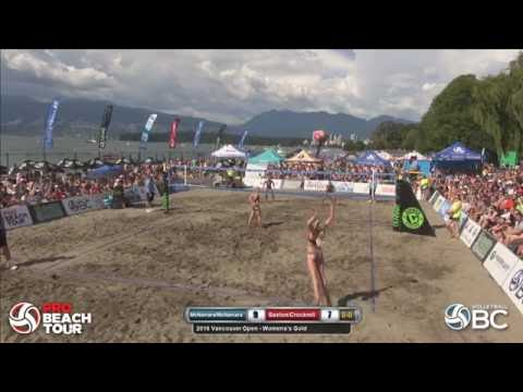 Women's Final - 2016 Vancouver Pro Beach Volleyball Open - Presented by Dunbar Cycles