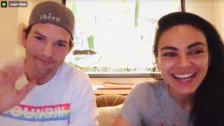 Ashton Kutcher And Mila Kunis Play Among Us On Twitch Livestream