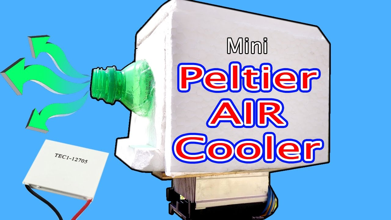 Air cooler Using peltier module How to make