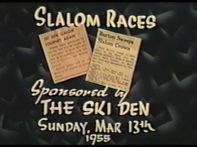 Buck Hill Ski Races - 1955