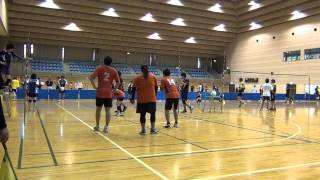 20140706 08a FORESTプチ交流会 FOREST v s 御坂体協1