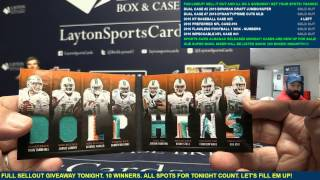 2016 Panini Preferred Football Case Break #16 SICK 1/1 DAK!