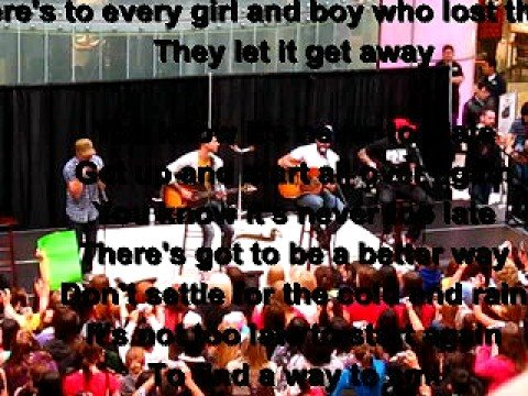 Its Never Too Late-Hedley (With Lyrics)