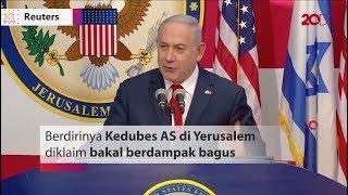 Kedubes AS Dibuka Di Yerusalem, Netanyahu: Ini Sejarah!