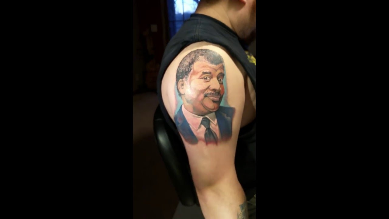 Neil degrasse tyson tattoos
