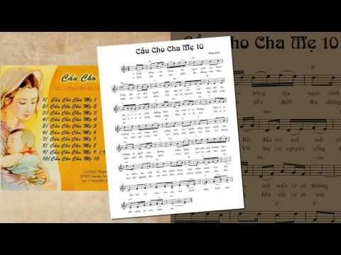 Album Cầu Cho Cha Mẹ - Phaxicô