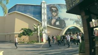 Hrithik Roshan at Dubai Parks and Resorts | REY REY |