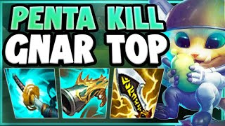3 HIT ANY CHAMPION WITH THIS MAX AD GNAR STRATEGY! GNAR SEASON 11 TOP GAMEPLAY! - League of Legends