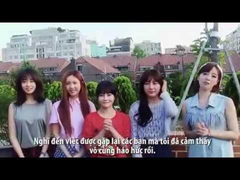 Clip T-ara nói tiếng Việt khiến fan vỡ òa