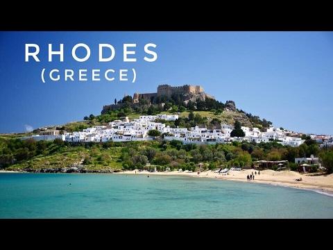 Rhodes Island Greece Map.Greek Islands Rhodes In 3 Minutes Youtube