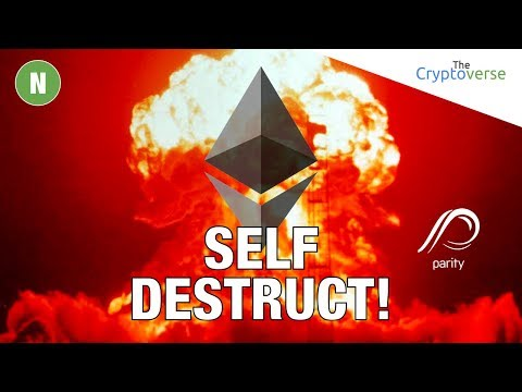 A Post Mortem 💀 On The Parity Ethereum MultiSig Self Destruct 💥 (ICO affected)