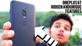 [HINDI] OnePlus 6t Hidden and Unique Features.! [IN-DEPTH]