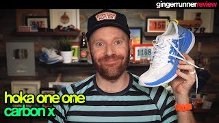 THE HOKA ONE ONE CARBON X REVIEW | The Ginger Runner