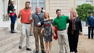 American heroes awarded France highest honor