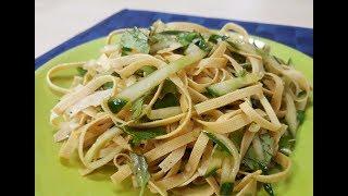 Салат из тонкого тофу (豆腐皮)