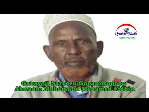 Download Waa gabay sarbeeb ah oo uu tiriyey abwan Maxamud maxamed fidhin