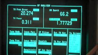 HP 8920A Service Monitor and AW07A Antenna Analyzer