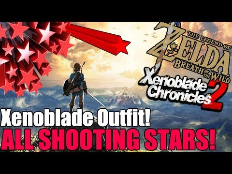 Shooting Star Locations (Xenoblade Chronicles 2 Side Quest) Zelda: Botw