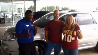 HALL CHEVY CUSTOMER VIDEO - Checking out Chevy Dealers in Williamsburg – Richmond VA – GMC Acadia