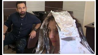 Technika farbowania włosów w tym salonie zaskoczyła nawet samego Maniewskiego[Afera fryzjera]