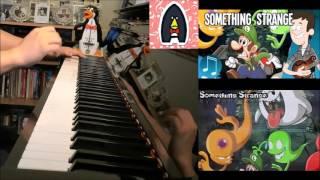 "MandoPony - ""Something Strange"" - Luigi Mansion Song (Advanced Piano Cover)"