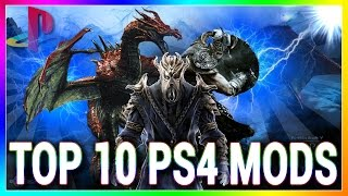 Skyrim Special Edition - Top 10 PS4 Mods