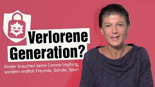 Verlorene Generation? Kinder brauchen keine Corona-Impfung, sondern wieder Freunde, Schule, Sport