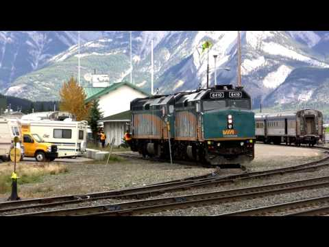 Railroading around Jasper National Park