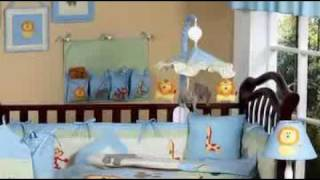 Jungle Safari Baby Crib Bedding Set By Jojo Designs
