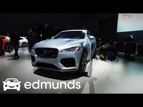 2019 Jaguar F-Pace SVR | First Look | Edmunds