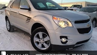 Used White 2012 Chevrolet Equinox AWD LTZ Review | Airdrie Alberta