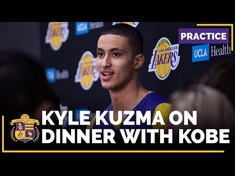 Lakers Rookie Kyle Kuzma Has Dinner With Kobe Bryant