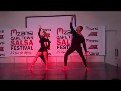 "Monica y Mitchell's ""Freedom"" Mzansi Cape Town Salsa Festival 2015"