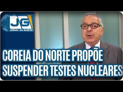João Batista Natali/Coreia do Norte propõe suspender testes nucleares