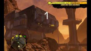 Red Faction Guerrilla - big and funny explosion