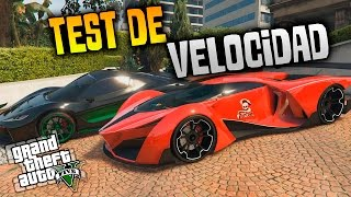 GTA 5 | TEST DE VELOCIDAD!! GROTTI X80 PROTO VS T20!! | XxStratusxX