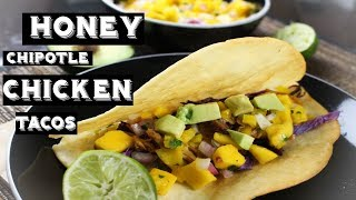 How To Make Honey Chipotle Chicken Tacos | Slow Cooker Recipe