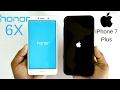 Honor 6X vs iPhone 7 Plus Speed Test!