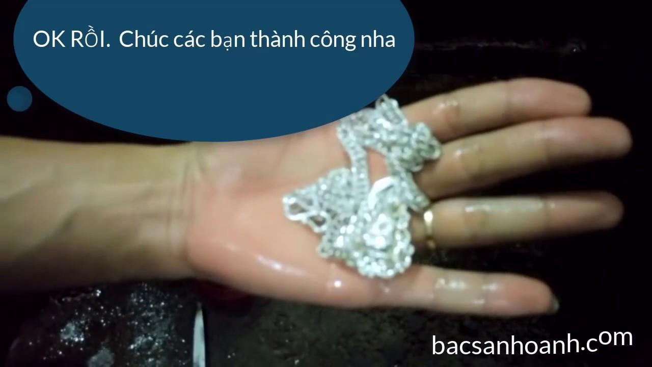 Hướng dẫn làm sáng bạc bằng chanh muối - Vàng Bạc Sánh Oanh Tại Thái Nguyên